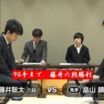藤井聡太六段【王座戦】VS畠山鎮七段(2018/2/23)速報!対局結果
