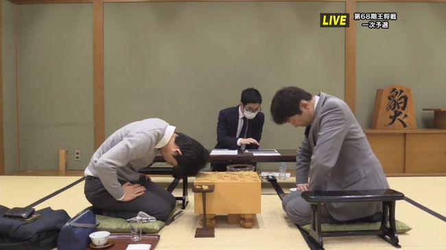 杉本七段(現八段)VS藤井六段終局