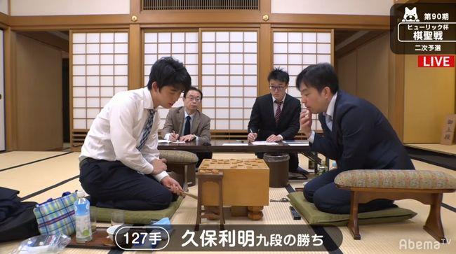 藤井聡太七段VS久保利明九段【棋聖戦二次予選】(2019/3/11)速報!結果