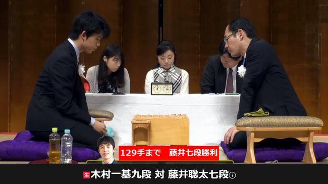 藤井聡太七段VS木村一基九段【瀬戸将棋まつり】(2019/5/25)速報!結果