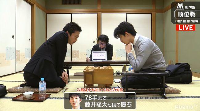 藤井聡太七段VS船江恒平六段【第78期順位戦】(2019/12/3)速報!結果