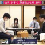 藤井聡太七段VS阿部健治郎七段※速報・結果【第61期王位戦】(2020/6/13)