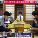 藤井聡太七段VS杉本昌隆八段※速報・結果【第33期竜王戦】(2020/6/20)