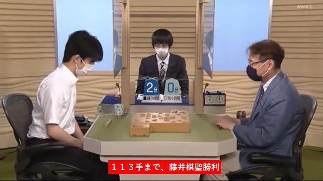 藤井聡太棋聖VS塚田泰明九段※速報・結果【NHK杯】(2020/8/2)
