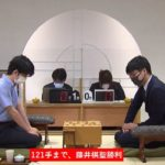 藤井聡太棋聖vs増田康宏六段※結果【第28期銀河戦】(2020/8/21)