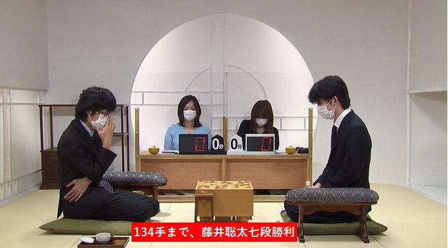 藤井聡太七段VS稲葉陽八段※結果【第28期銀河戦】(2020/7/4)