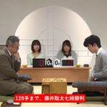 藤井聡太七段VS中村修九段※結果【第28期銀河戦】(2020/1/7)