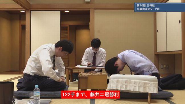 藤井聡太二冠vs広瀬章人八段※速報・結果【第70期王将戦】(2020/11/2)