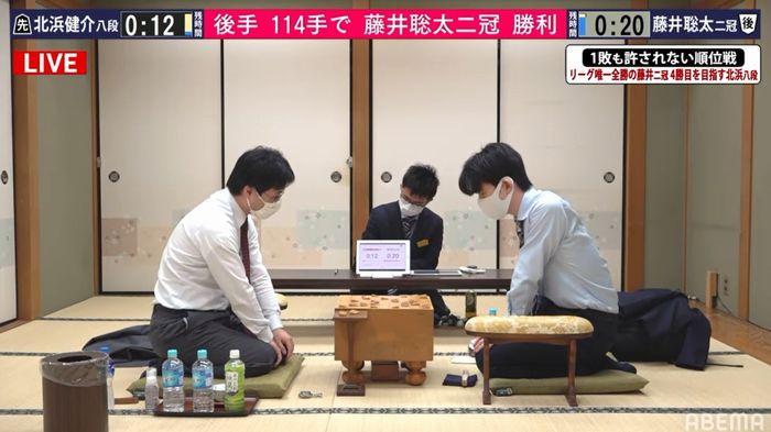 藤井聡太二冠VS北浜健介八段※速報・結果【順位戦B2】(2020/11/11)