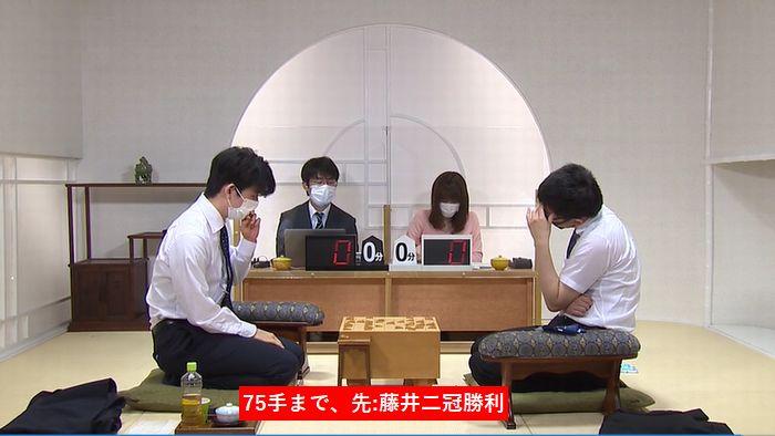 藤井聡太二冠vs永瀬拓矢二冠※速報・結果【第28期銀河戦】(2020/9/18)