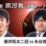 藤井聡太二冠VS糸谷哲郎八段※速報・結果【第28期銀河戦】(2020/12/12)